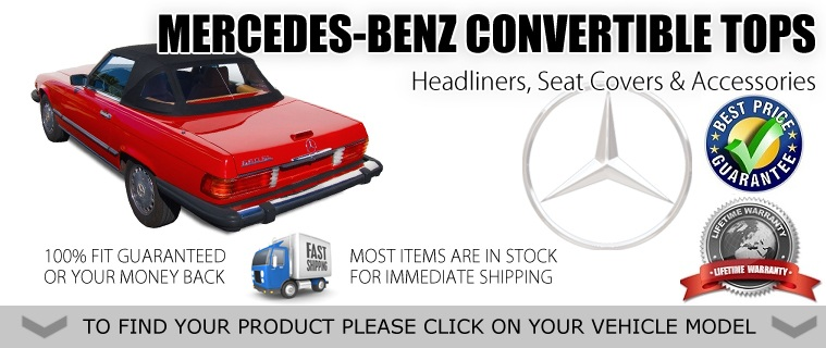 Mercedes Replacement Upholstery Convertible Tops Accessories