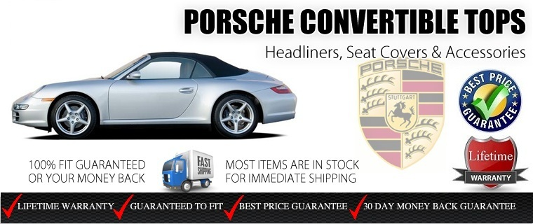 Porsche Replacement Tops, Upholstery & Accessories | AutoBerry com