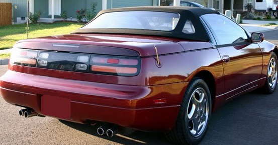Autoberry Com Nissan 300zx 1993 1995 Convertible Top