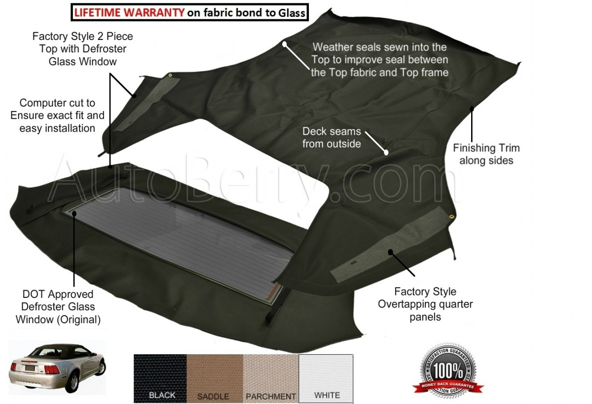 2000 ford mustang convertible top leaks for 2001 ford mustang convertible top motor