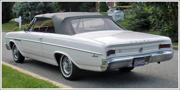 Buick Special Convertible Top Replacement 1964 1965