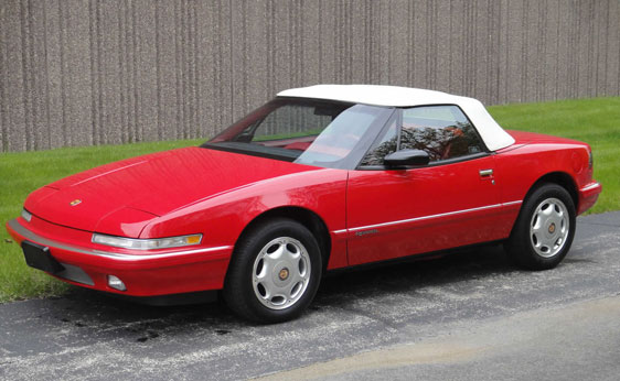Buick Reatta Convertible Top Replacement Autoberry Com