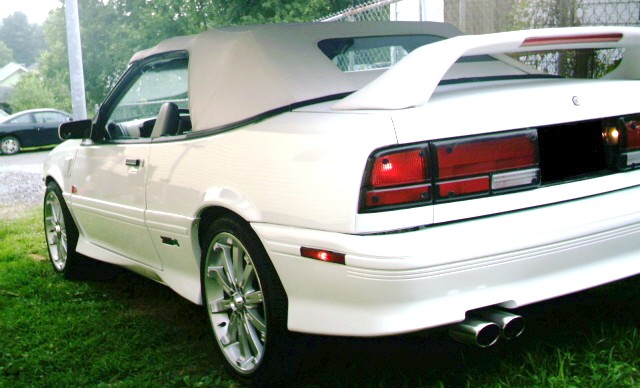 Chevrolet Cavalier 1992 1995 Convertible Top