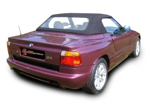 bmw z1 convertible soft top with plastic window 1989 1991 ez on brand. Black Bedroom Furniture Sets. Home Design Ideas