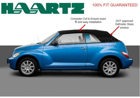 Autoberry Chrysler Pt Cruiser Convertible Soft Top Replacement 2004 2010 Tops Seat Covers Headliners
