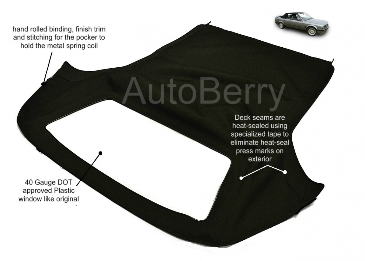 Bmw 3 Series Convertible Top Replacement 1987 1993
