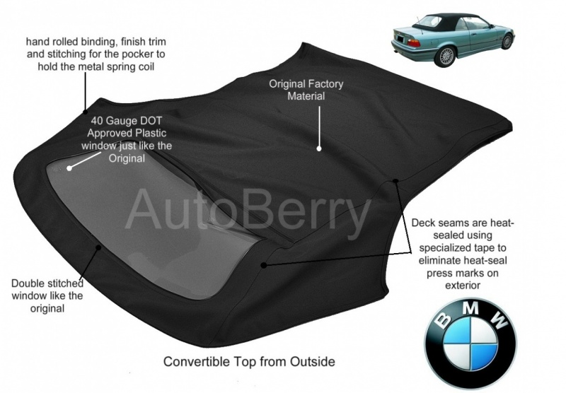Bmw 3 Series Convertible Top Replacement 1994