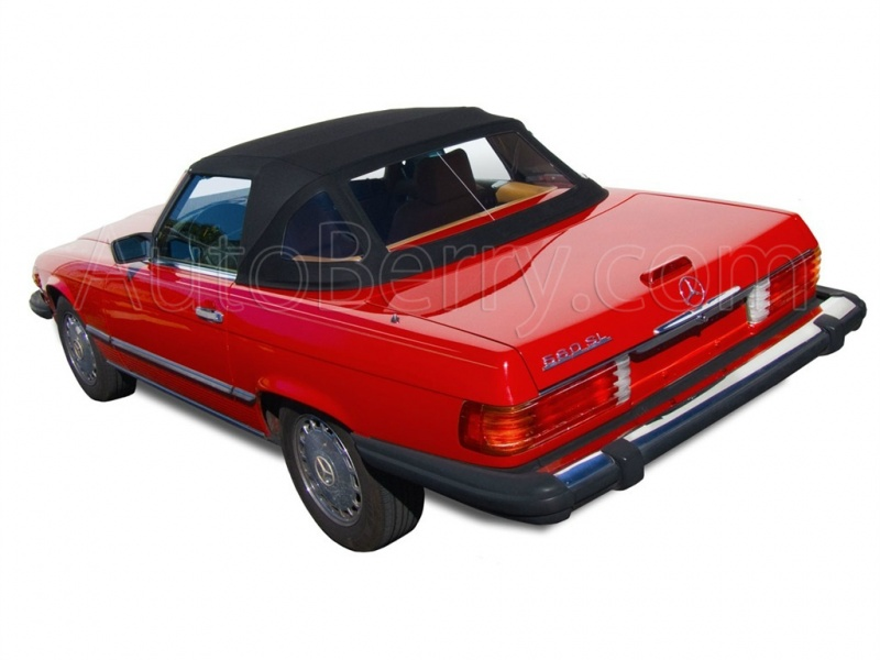 Mercedes R107 Convertible Soft Top 280sl 450sl 380sl 560sl 1972 1989