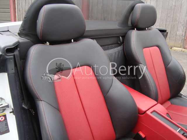 R170 slk230 320 leather or vinyl seat for Mercedes benz ml350 seat covers